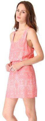 Parker Daria Cinched Waist Dress