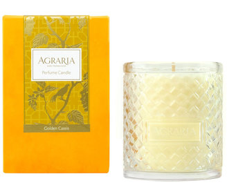 Agraria Woven Crystal Candle - 200g - Golden Cassis
