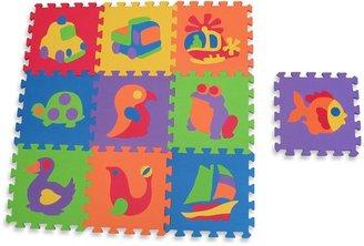 Edushape EdutileTM 10-Piece Puzzle Play Mat