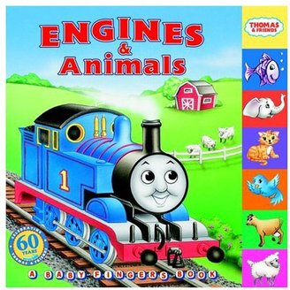 Thomas & Friends Engines & Animals (Board Book)