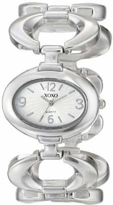 XOXO Women's XO5206 Dial -Tone Watch with Open-Link Bracelet