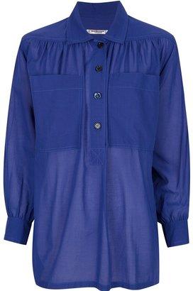 Yves Saint Laurent Vintage semi-sheer shirt