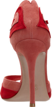 Gianvito Rossi Stylized Two-Tone Sandal
