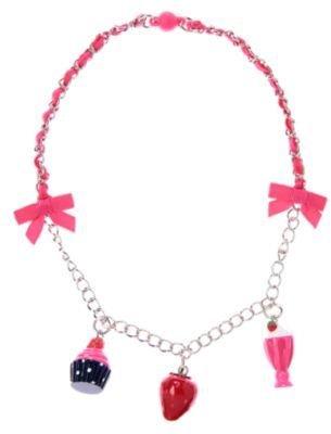 Crazy 8 Strawberry Charm Necklace