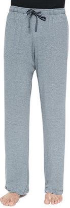 Derek Rose Basel Jersey Lounge Pants, Gray $135 thestylecure.com