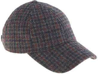J.Crew Houndstooth baseball cap
