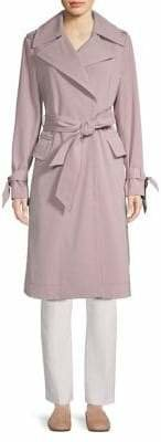 London Fog Maxi French Trench Coat