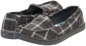 Roxy Lidette (Grey Plaid) - Footwear