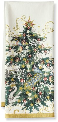 Williams-Sonoma Printed Icon Tree Towels, Set of 2