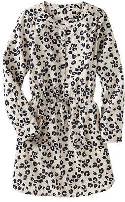 Gap Animal print shirtdress