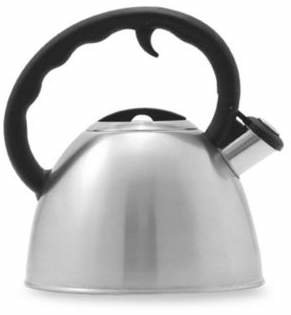 Bed Bath & Beyond Remedy® Metro 1.5-Quart Brushed Stainless Steel Tea Kettle