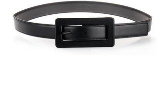 Saint Laurent Edie leather belt