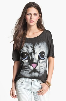Hip Graphic Slouch Tee (Juniors)