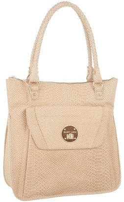 Elliott Lucca Cordoba Large Envelope Tote (Nude Exotic) - Bags and Luggage