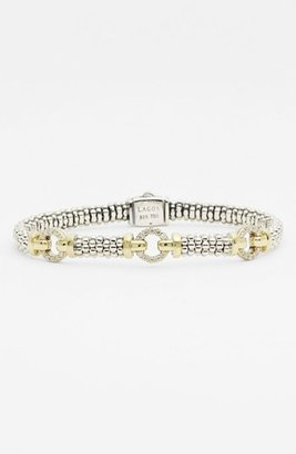 Lagos Women's Caviar(TM) Diamond 'O' Bracelet (Online Only)