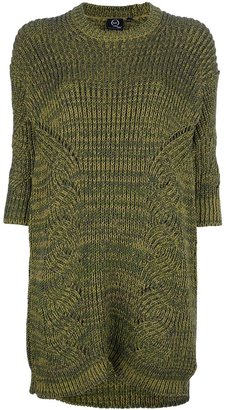 McQ by Alexander McQueen cable knit dress