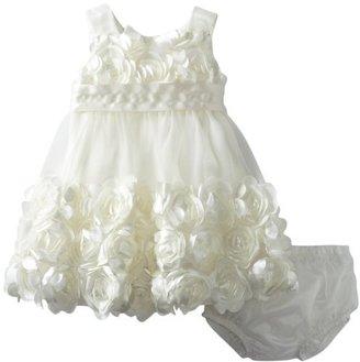 Bonnie Baby Girls Infant Mesh Bubble Dress