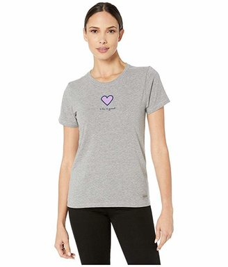 Life is Good Heart Crushertm Tee