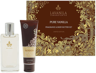 LAVANILA Laboratories Fragrance & Body Butter Set, Pure Vanilla 1 ea