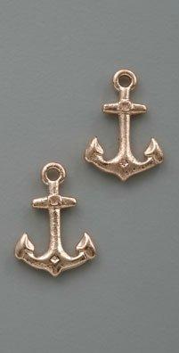 Bing Bang Anchor Stud Earrings
