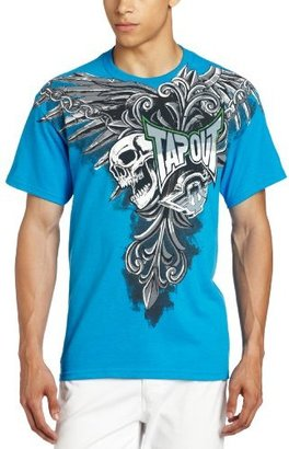 Tapout Men's Night Stream Short Sleeve T-Shirt