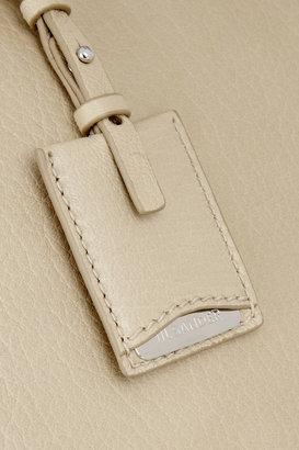 Jil Sander Medium leather bowling bag
