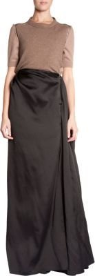 Lanvin Long Flared Skirt