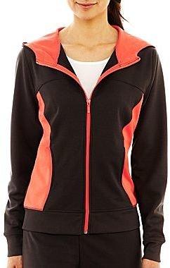JCPenney Silverwear Hooded Stride Jacket