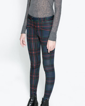 Zara Neoprene Trousers