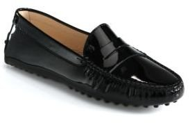 Tod's Patent Leather Moccasin Drivers