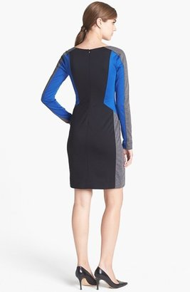Trouve Trouvé Colorblock Sheath Dress