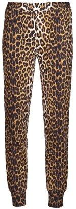 3.1 Phillip Lim leopard track pant