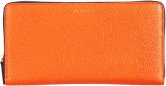 Smythson Chameleon Zip Around Travel Wallet-Orange