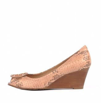 Tory Burch Sally 2 Python Wedge