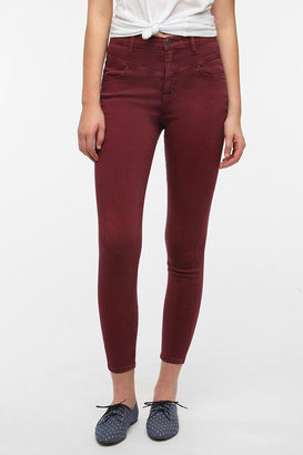 BDG High-Rise Seamed Jean - Wine