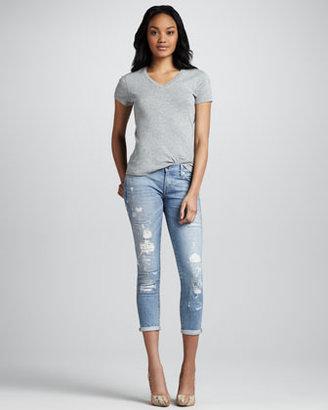 TEXTILE Elizabeth and James Ozzy Rip & Repair Jeans