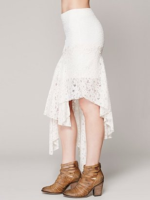Free People FP X Annabelle Lace Skirt