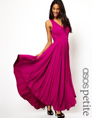 Asos Exclusive Grecian Maxi Dress