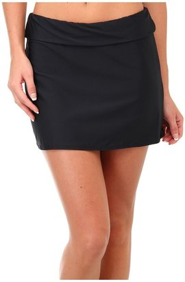 Athena Heavenly Skirted Cover-up (Black) - Apparel