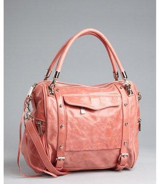 Rebecca Minkoff pink leather 'Cupid' tassel satchel