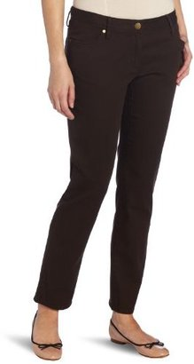 Chaus Women's Stretch Twill 5-Pocket Skinny Jean
