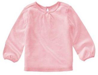 Gymboree Pink Shirred Tee