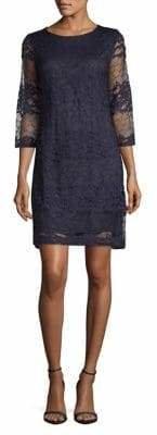 Karl Lagerfeld Paris Lace Shift Dress