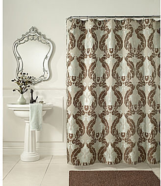 JCPenney Baroque Shower Curtain