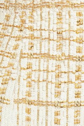 L'Wren Scott Sequined silk pencil skirt