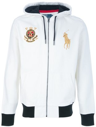 Ralph Lauren Blue Embroidered hoodie
