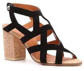 Givenchy Suede Cutout Sandal