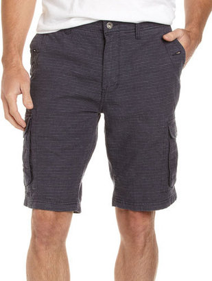 Converse Blue Striped Cargo Shorts