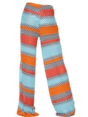 Missoni Viscose Knit Trousers