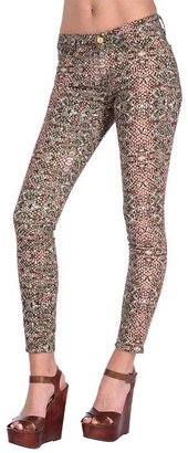 7 For All Mankind The Skinny in Mosaic Print